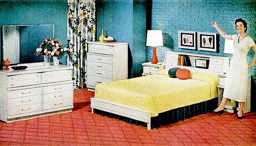 Bedroom 1956 50 S Pinterest Mid Century Bedroom Bedrooms