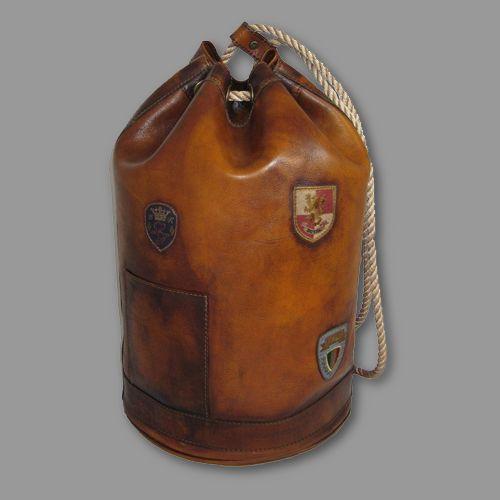 Vintage Valor Distressed Leather Sailor Bag Men S Style