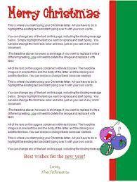 Family Christmas Letter Christmas Lettering Christmas Letter