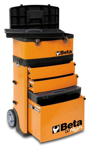 Picture of Beta Tools C41 H Two Module Tool Trolley