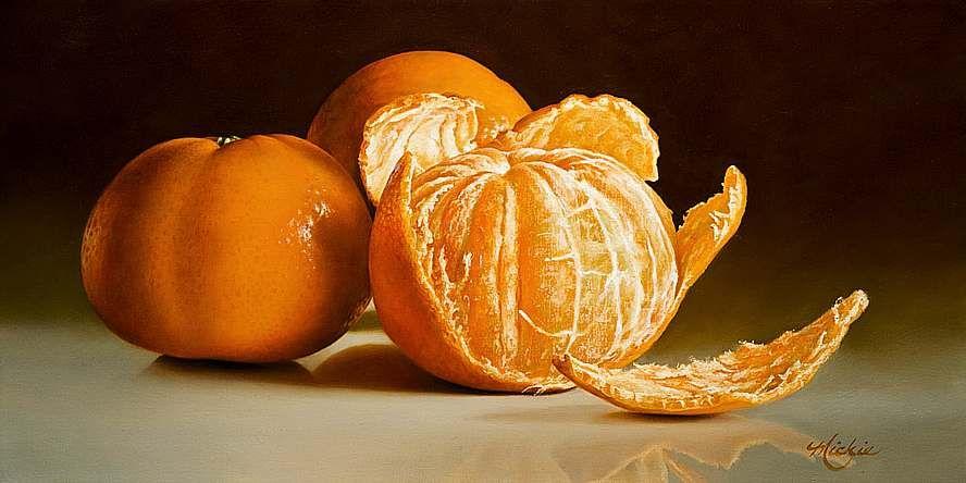 Кладовка Левконои - Mickie Acierno. oil canvas