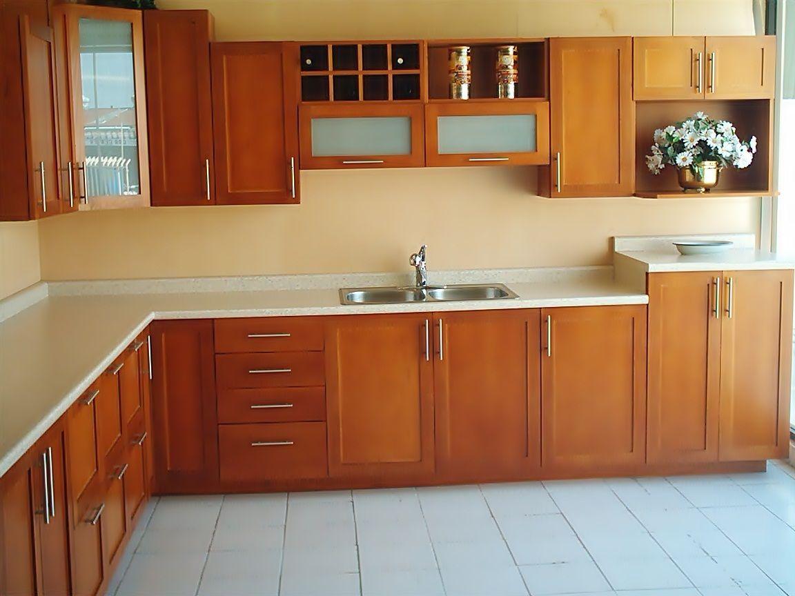 Cocina en madera 3 deko cocinas y closet cocina for Muebles de cocina zamora