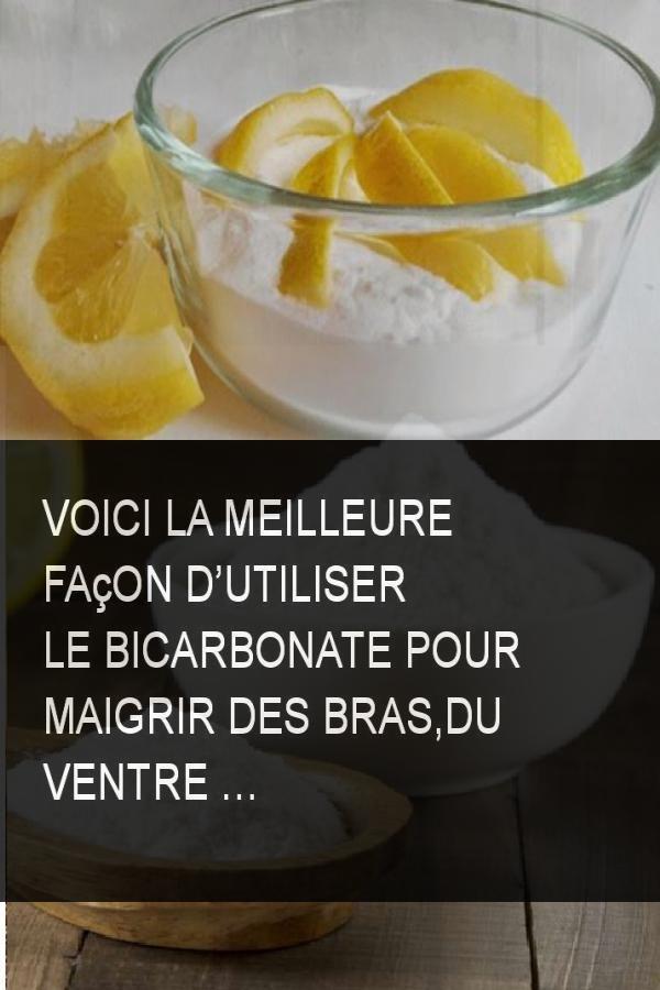 Voici la meilleure façon d'utiliser le bicarbonate pour