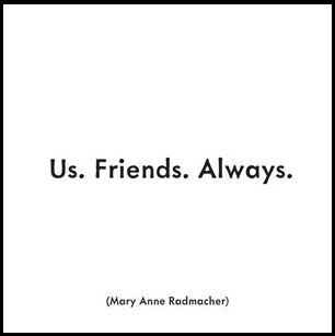 Us Friends Always - Friendship Greeting Card from Quotable Cards