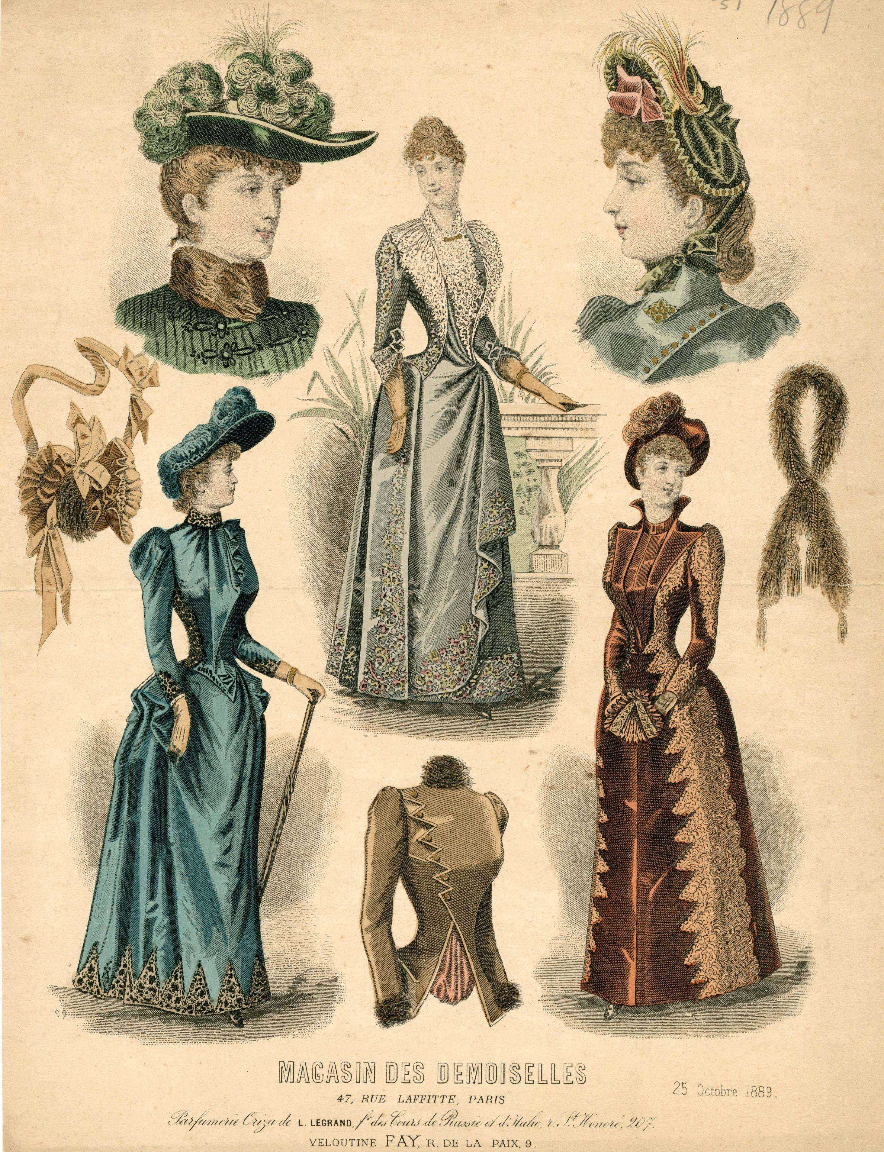 Magasin des Demoiselles 1889
