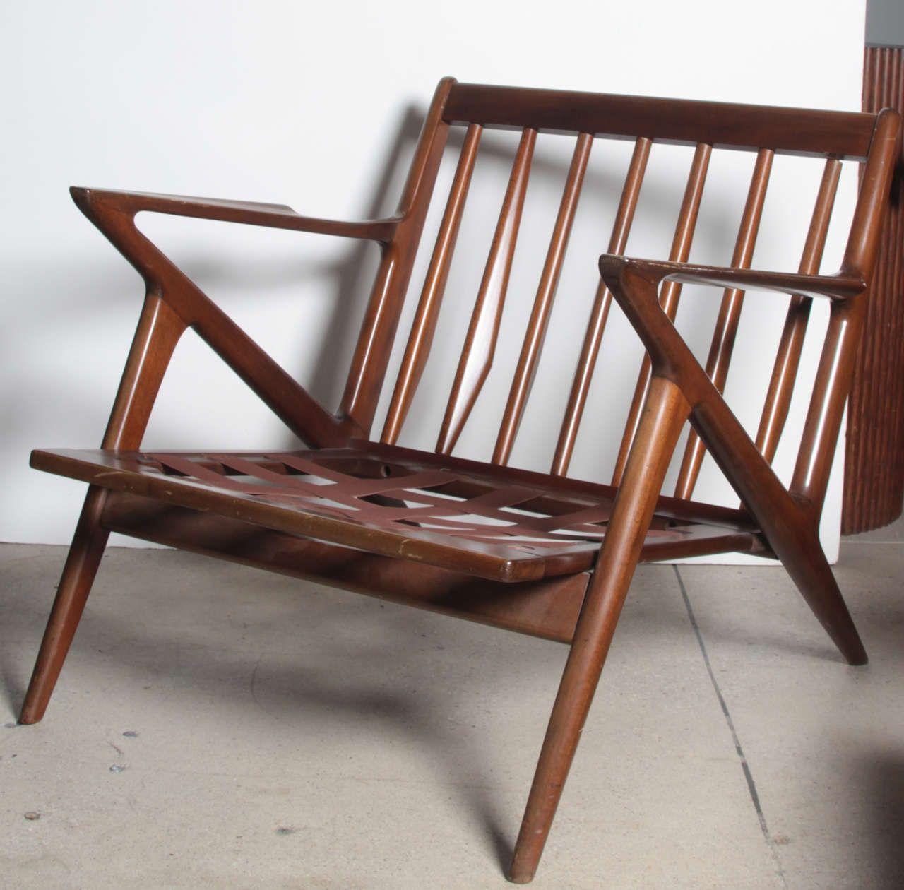 Beau Pair Poul Jensen Selig Z Chairs 2