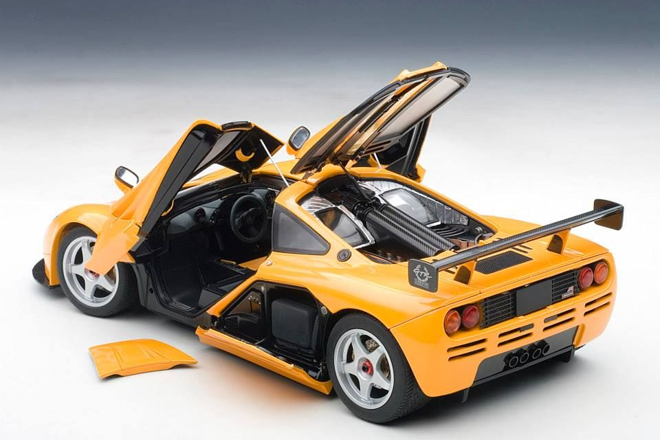 Autoart Mclaren F1 Lm Edition Orange 76011 In 1 18 Scale Mclaren F1 Lm Mclaren F1 Mclaren