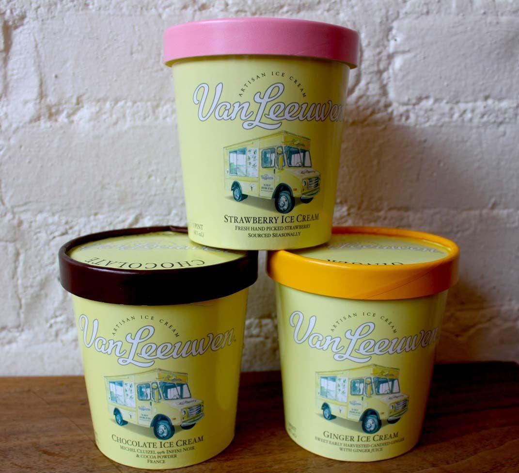 Van Leeuwen Artisan Ice Cream Artisan Ice Cream Ice Cream Sign Ice Cream