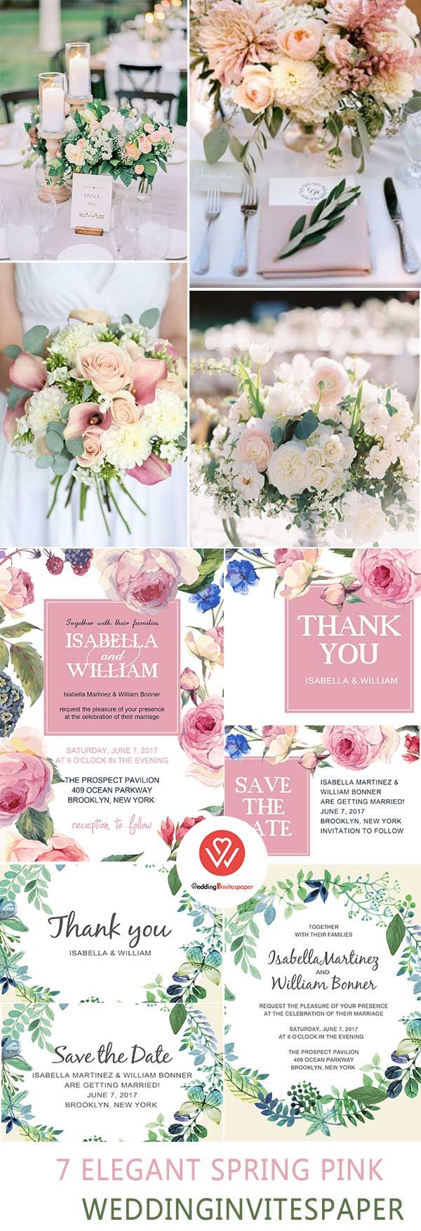 7 super elegant affordable blush pink spring wedding invitations 7 super elegant affordable blush pink spring wedding invitations from wip wedding invites paper izmirmasajfo