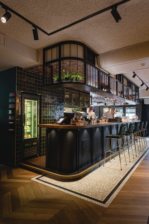 La Colline Bar Interior Design Bistro Interior Design Bar Design Restaurant