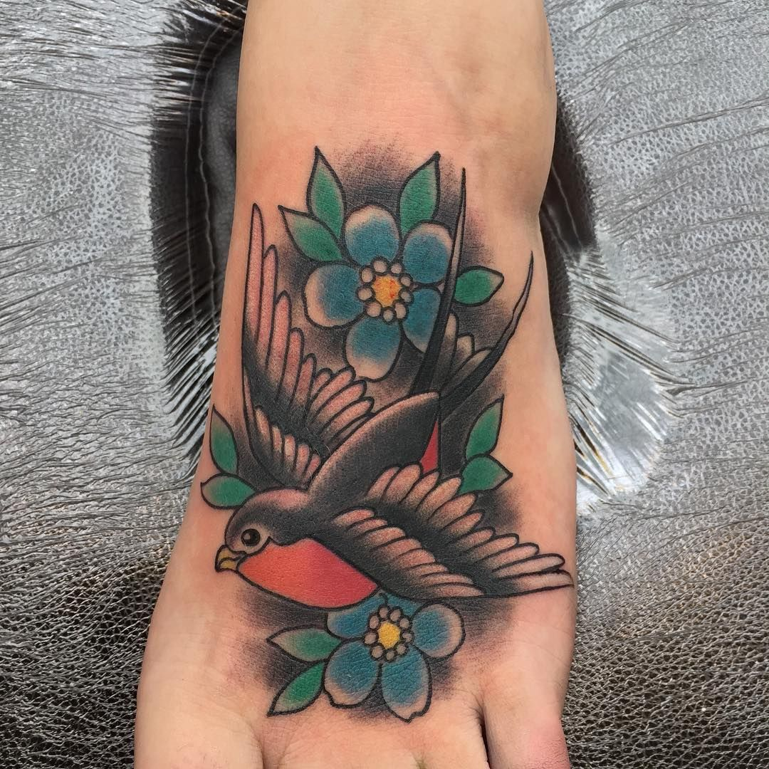 80+ Best Swallow Bird Tattoo Meaning and Designs Fly in