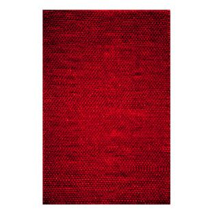 Modern Town Hand Woven Red Area Rug 8 X 10