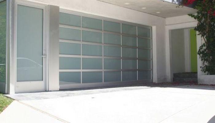Flat Panel Glass Acrylic Flush Mounted Garage Doors Christchurch Garage Doors Glass Garage Door Garage Door Styles