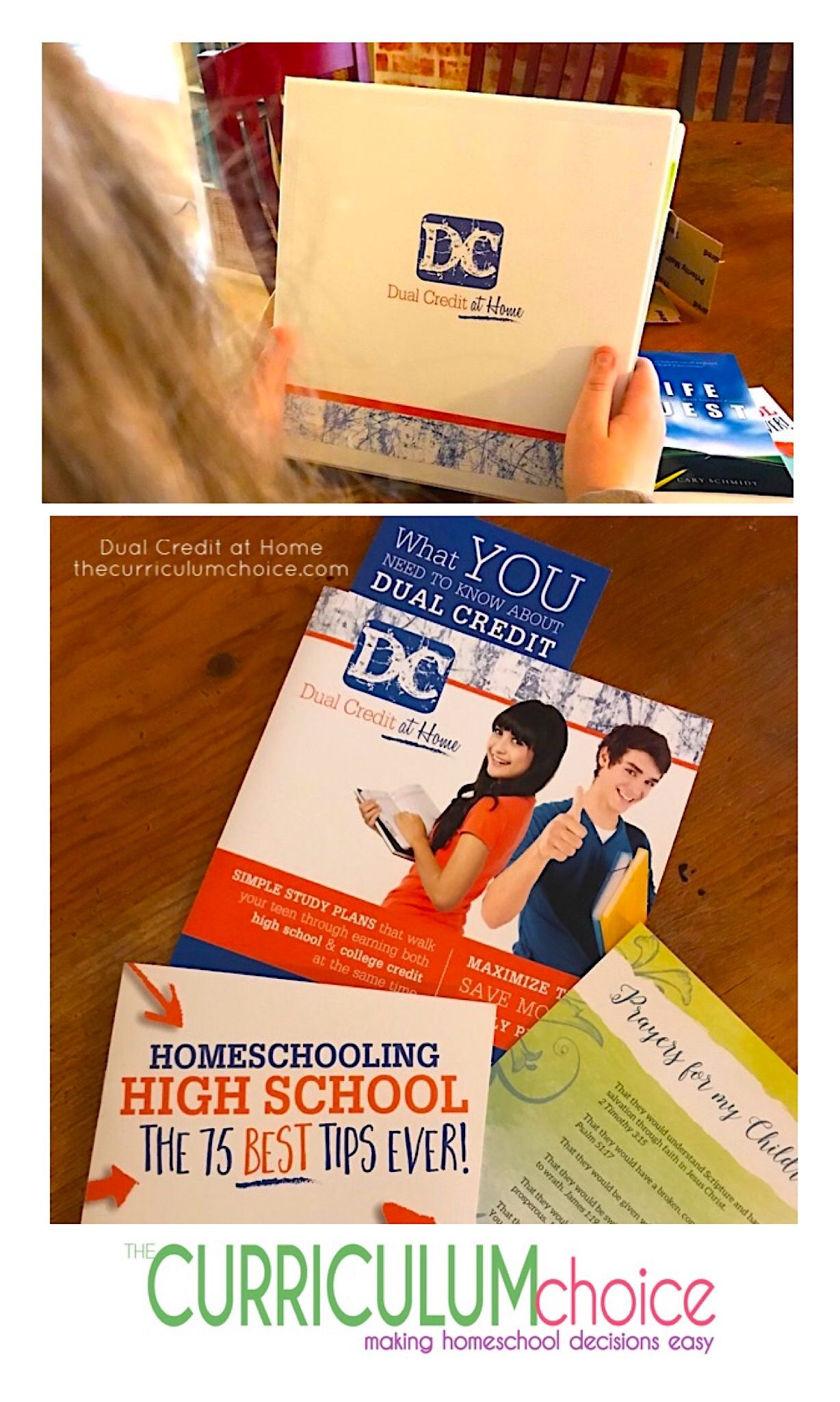 Dual credit at home review homeschool curriculum reviews