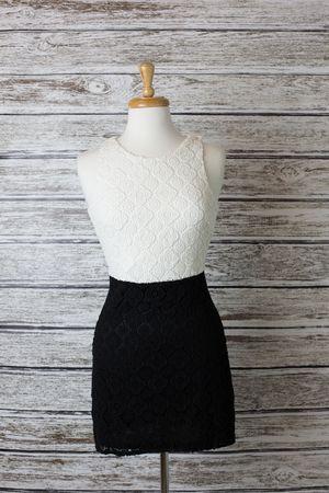 Opposites Attract Crochet Dress