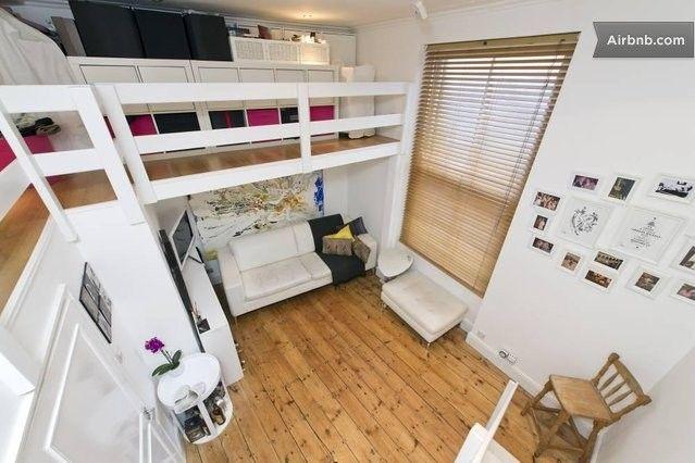 Gorgeous Split Level Studio Flat In London Home Studio Flat Small Studio Apartments
