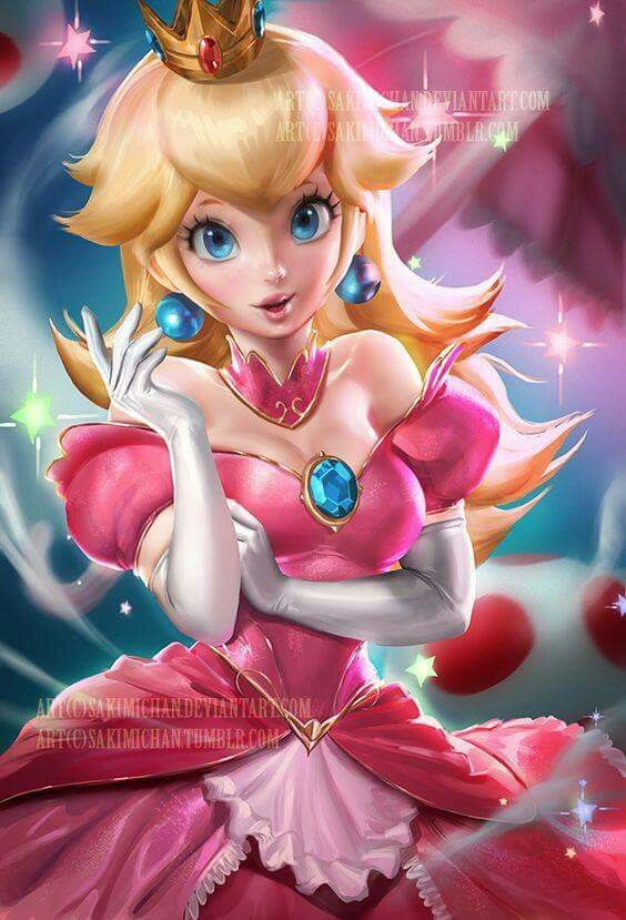Necessary phrase... Princess peach hentai figure opinion you