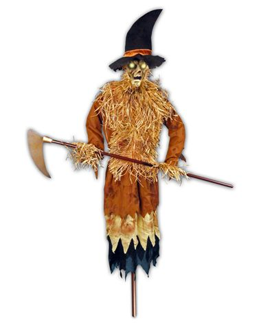 The Illuminated Harvester Decoration Samhain- Spooktacular set-up
