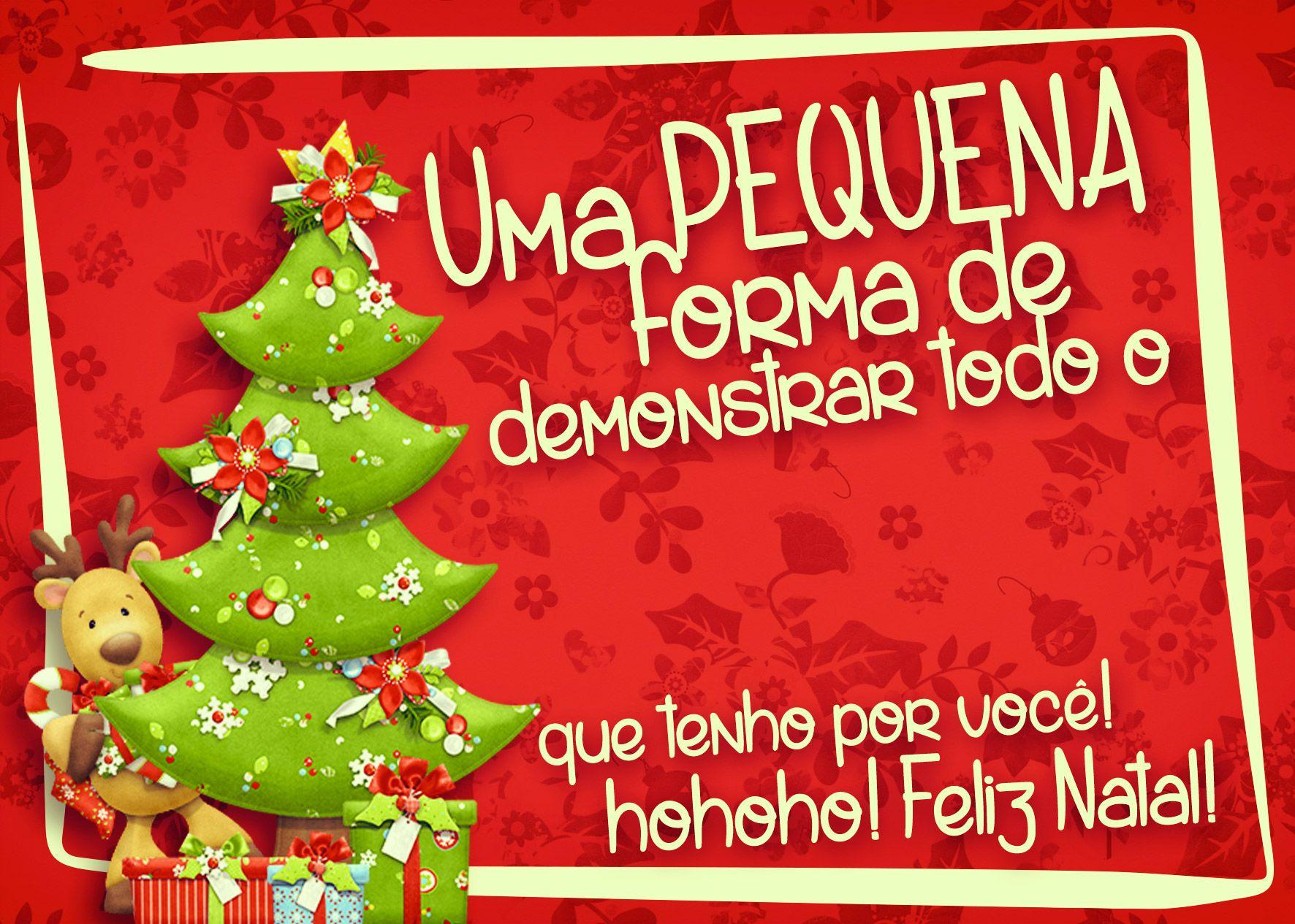 Cartão De Agradecimento Prestígio Para Natal Vermelho 4 Natal