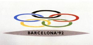 America Sanchez Logo Candidatura Barcelona 92 Barcelona 92