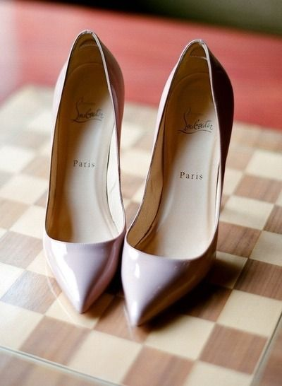 Lilac Patent Pumps by Christian Louboutin