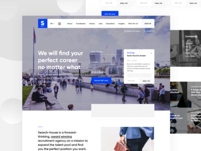 Job Application Process Dashboard Pt6 In 2020 Recruitment Agencies Job Search Agency Website Design