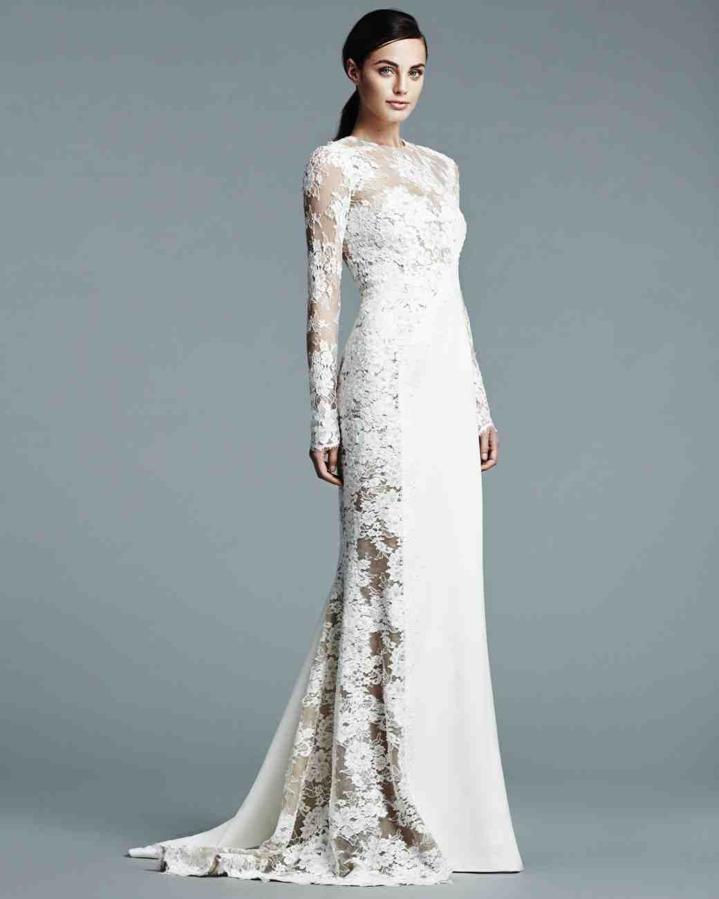 The 9 Best Wedding Dress Trends from Bridal Fashion Week | Martha ...