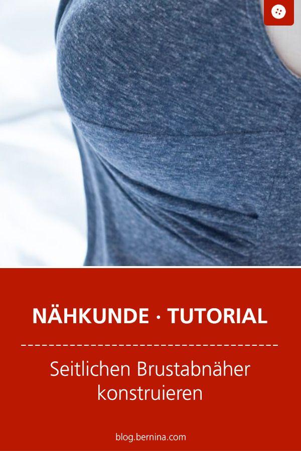 Wie konstruiert man eigentlich ... einen seitlichen Brustabnäher? #sewingtechniques