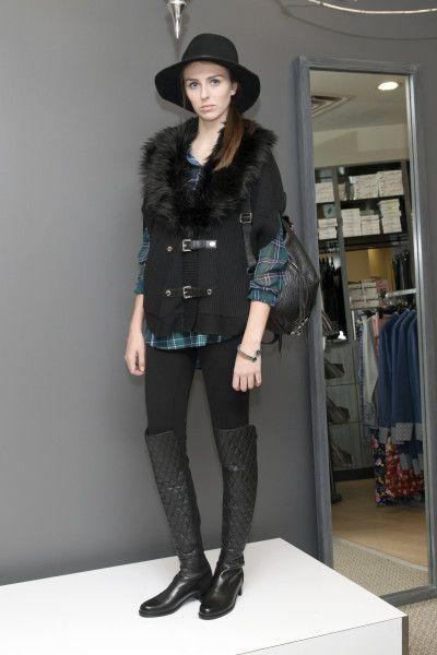 www.mydarlinglife.com - Michael Kors faux fur cardigan. Stuart ... : stuart weitzman quilted boots - Adamdwight.com