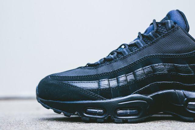 ... low price nike air max 95 triple black sneaker freaker 12715 3e311 ef3c1907f