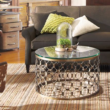 Naomi Pewter Coffee Table Arhaus Could Be A Cool Coffee Table