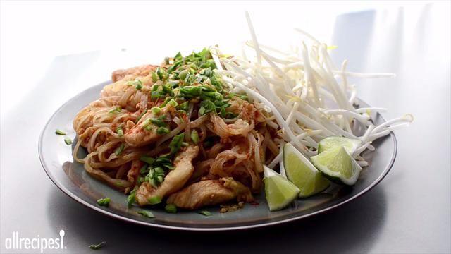 Authentic pad thai video recipes pinterest allrecipes thai authentic pad thai video videos offood videosrecipe forumfinder Image collections