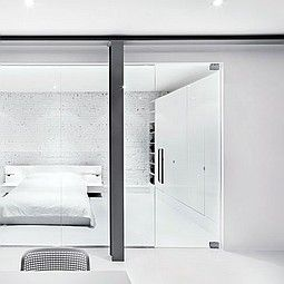 Long And Lean KB Stars In Montreal Apartment Renovation Architecture InteriorsMontrealMaster BedroomApartments