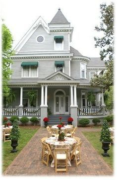 Bayfield, Wisconsin bed and breakfast Le Chateau Boutin, in a 1908 Victorian mansion | victorian and country old houses | Pinterest