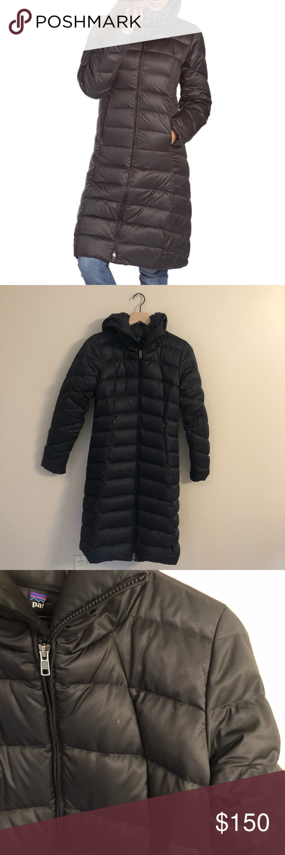 Patagonia Downtown Loft Parka Black Size Small