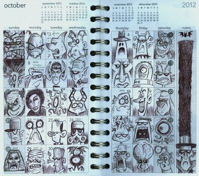 Bob Canada's BlogWorld: October Doodles