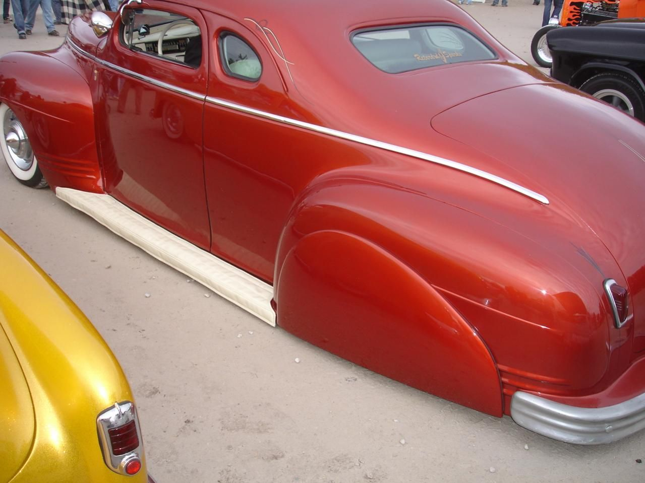 Customs anyone having more shots of this chopped hardtopped 1941 plymouth coupe