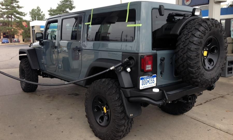 With Components From American Expedition Vehicles This Jk Six Pak Concept Vehicle Has Seating