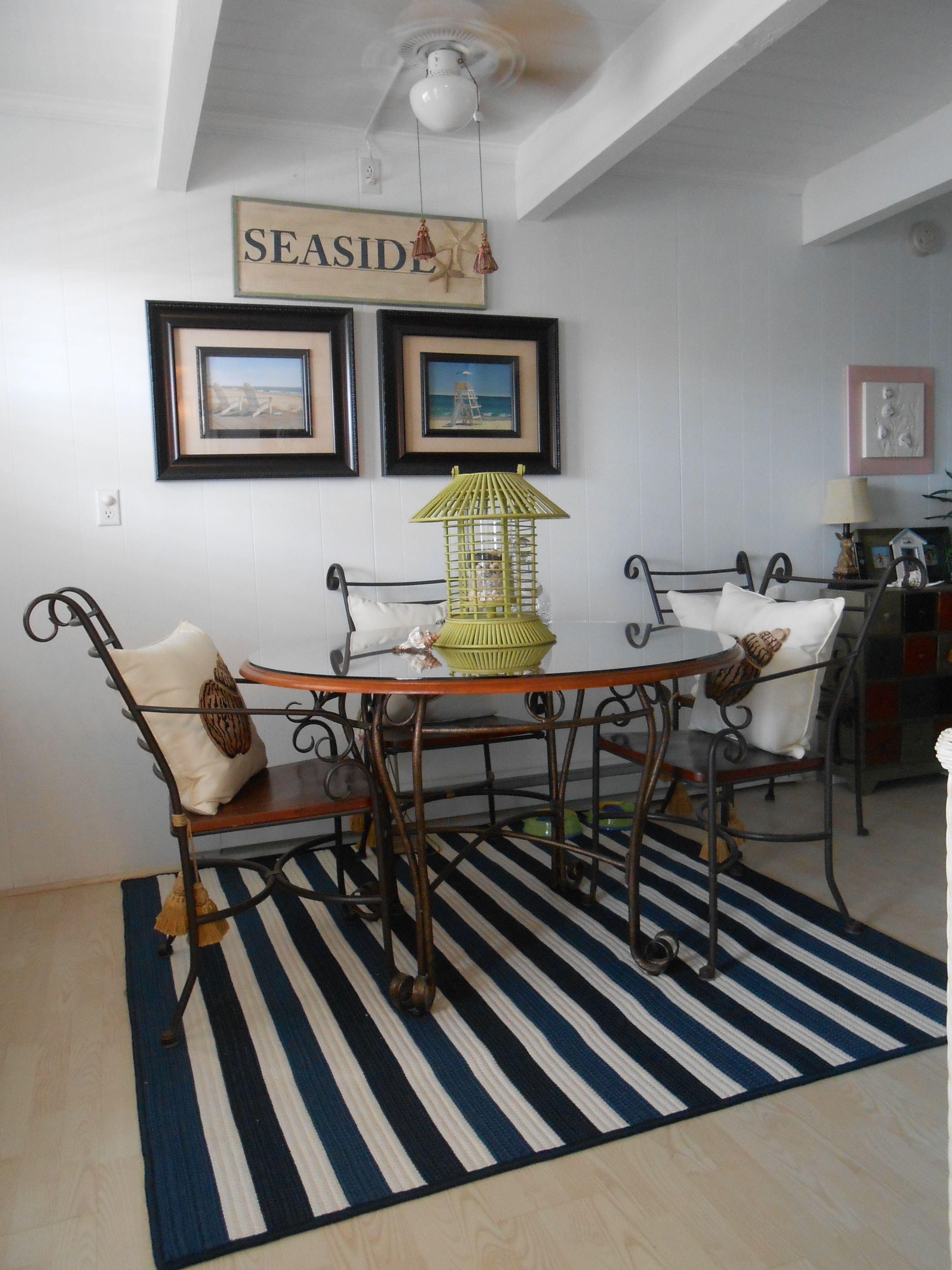 navy and white nautical rug in cottage kitchen home decor cottage kitchen cottage renovation on kitchen decor navy id=52648