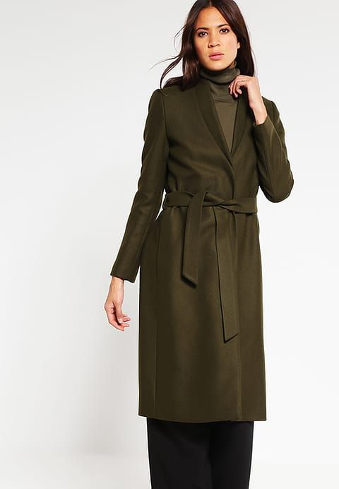 Wollmantel   klassischer Mantel - khaki green - Zalando.de   coats ... f229870d6a
