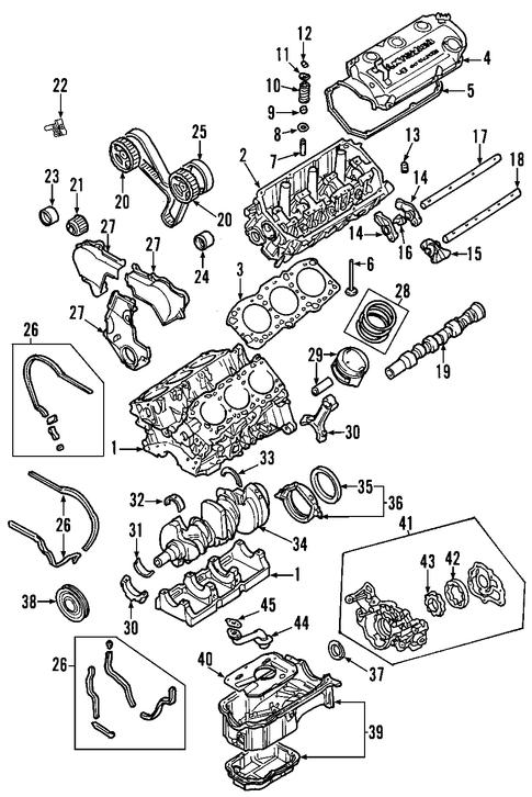 Genuine Mitsubishi Parts Enginemounts For 2000 Eclipse. Genuine Mitsubishi Parts Enginemounts For 2000 Eclipse 1. Mitsubishi. 2003 Mitsubishi Eclipse Spyder Parts Diagram At Scoala.co