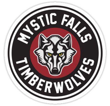 Mystic Falls Timberwolves Stickers Mystic Falls Aesthetic Shop