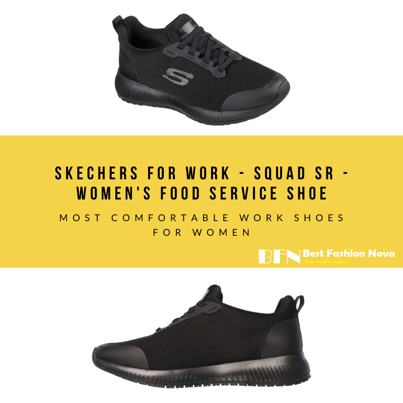Piñón Muy enojado Continuación  Skechers for Work – Squad SR – Women's Food Service Shoe in 2020 |  Comfortable work shoes, Women shoes, Work shoes