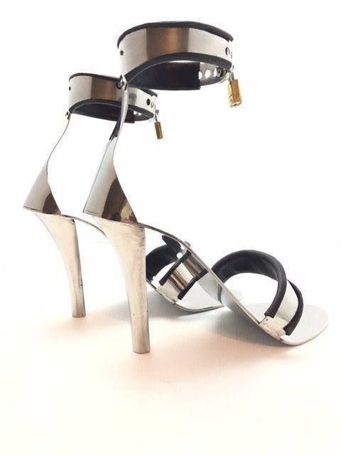 4e48cc02c7d Locking High Heels. Locking High Heels Steel Shoes ...