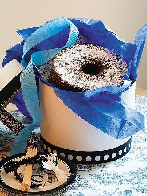 Torta al cioccolato in scatola