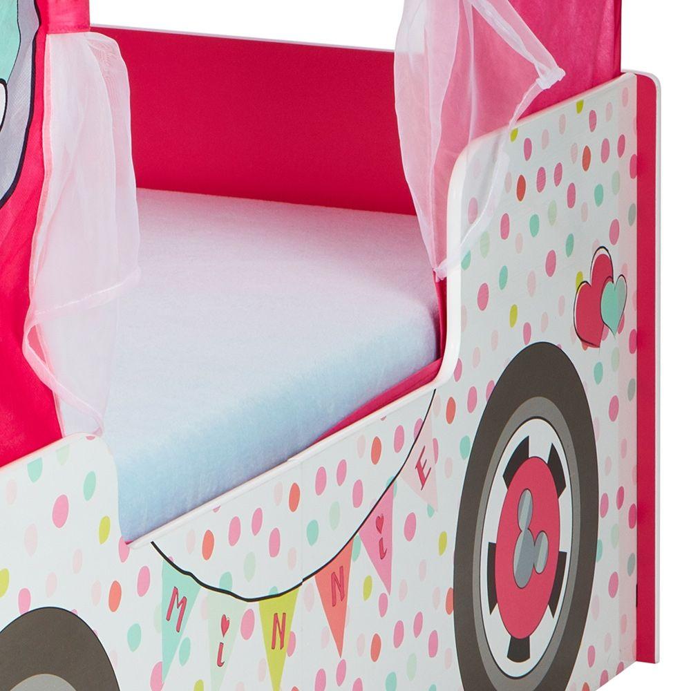 - Minnie Mouse Campervan Toddler Bed Toddler Bed, Disney Bedrooms