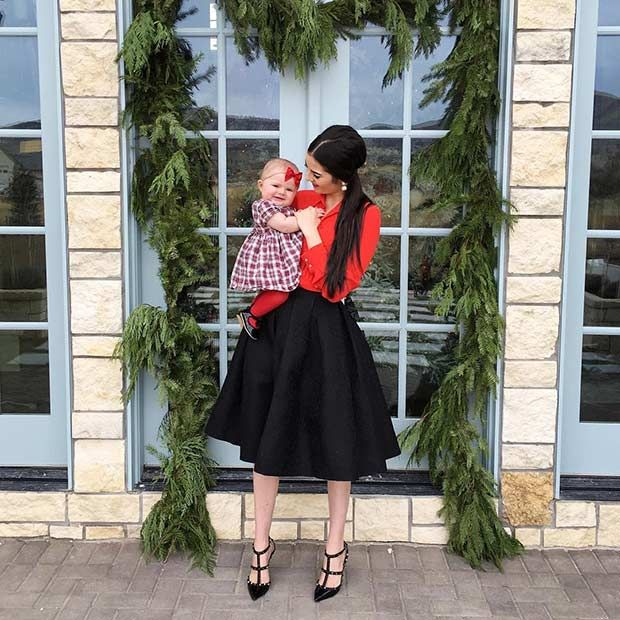 59 Cute Christmas Outfit Ideas Stayglam Cute Christmas Outfits Casual Christmas Party Outfit Red Christmas Outfit
