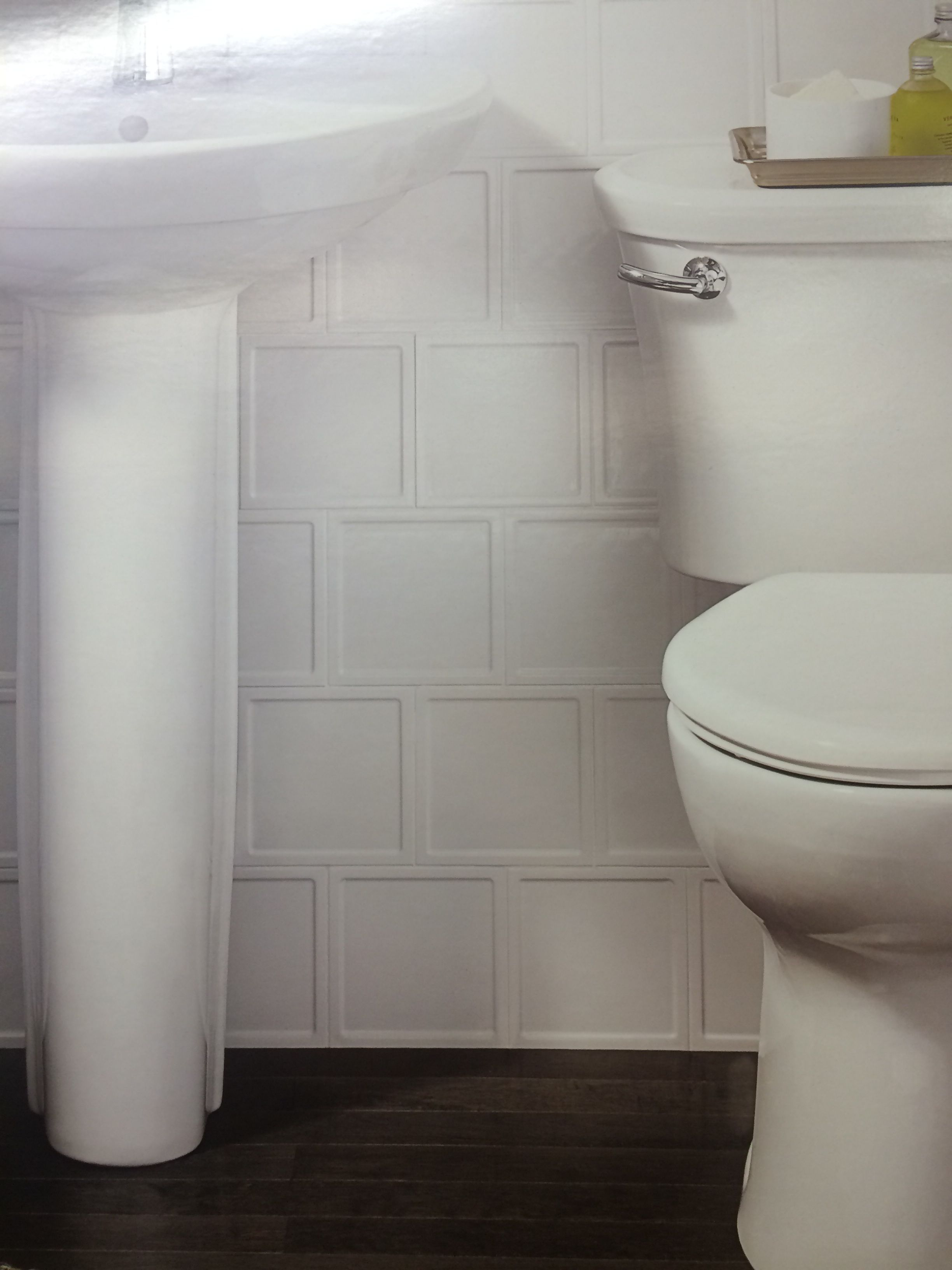 Interceramic Up And Down Glazed Ceramic Wall Tile Square White