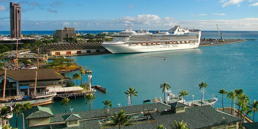 honolulu cruise terminal map Honolulu Cruise Terminal Cruise Port Honolulu Oahu Honolulu honolulu cruise terminal map