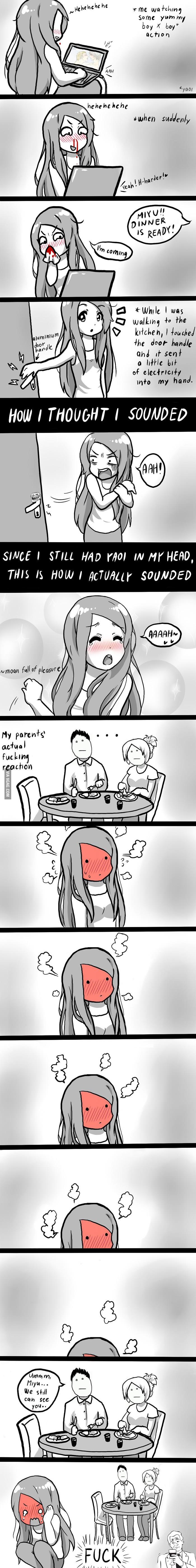 That Awkward Moment - 9GAG